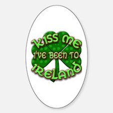 KISS ME I've Been to IRELAND Decal