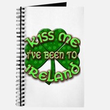 KISS ME I've Been to IRELAND Journal