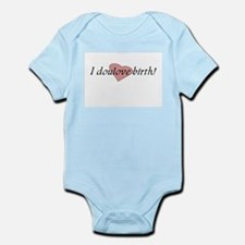 I doulove birth! Body Suit