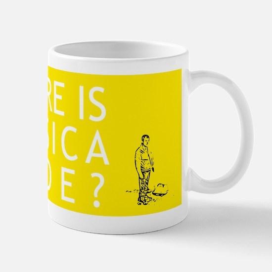Where is Jessica Hyde? Small Mug