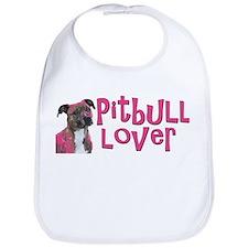 pitbull lover Bib