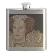 Mary Sidney portrait Flask