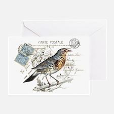 Blue Bird Carte Postale Greeting Card