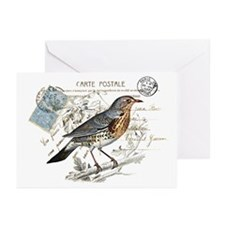 Blue Bird Carte Postale Greeting Cards (Pk of 10)