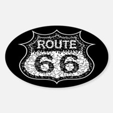 The Monster Road Sticker (Oval)