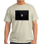 Spooky Spider Ash Grey T-Shirt