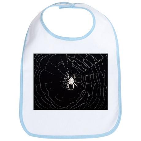 Spooky Spider Bib