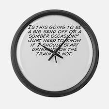 Cute Occ Large Wall Clock