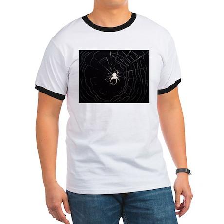 Spooky Spider Ringer T