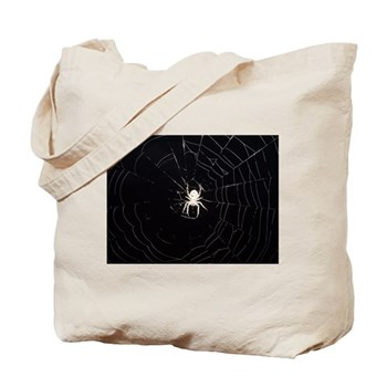 Spooky Spider Tote Bag