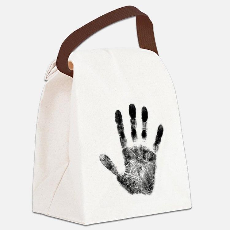 Handprint Canvas Lunch Bag