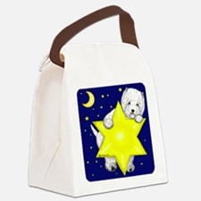 Westie Star Canvas Lunch Bag
