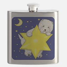 Westie Star Flask