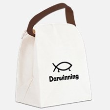 Darwinning Canvas Lunch Bag