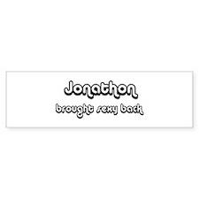 Sexy: Jonathon Bumper Bumper Sticker
