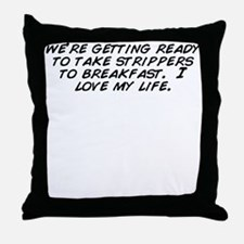 Cool Get ready Throw Pillow