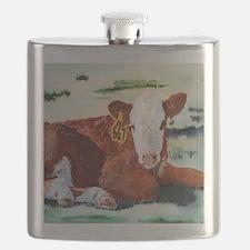 Hereford Calf Flask