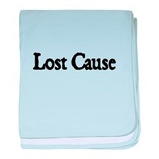 Lost Cause baby blanket
