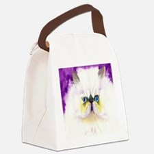 Himalayan Cat Canvas Lunch Bag