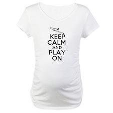 Keep Calm and Play On Trombone Shirt