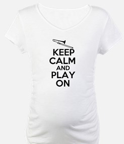 Keep Calm and Play On Trombone Shirt