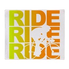 ride.png Throw Blanket