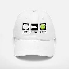 1eat sleep DRINKLIGHT hh Baseball Baseball Baseball Cap
