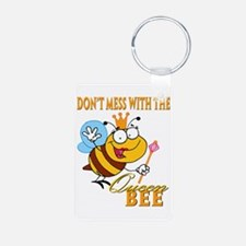 dont mess with the queen bee funny cartoon Aluminu