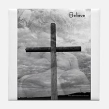 Believe Tile Coaster