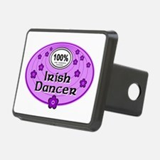 100% Irish Dancer in Purple Hitch Cover