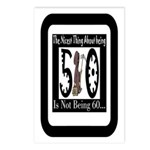 Being 50 Postcards (Package of 8)