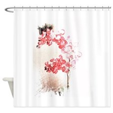 Orchid Blossom Shower Curtain