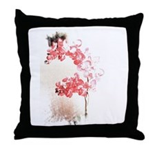 Orchid Blossom Throw Pillow