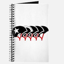 Roller Derby helmets (black design) Journal