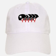 Roller Derby helmets (black design) Baseball Baseball Baseball Cap