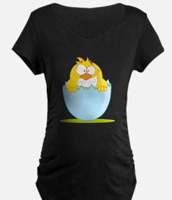 funny baby chick hatching from egg cartoon Materni