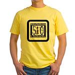 Being 50 Yellow T-Shirt