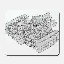 GL1800 Engine Mousepad