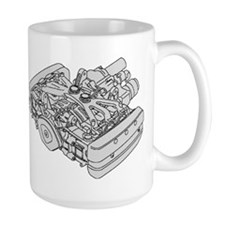 GL1800 Engine Mug