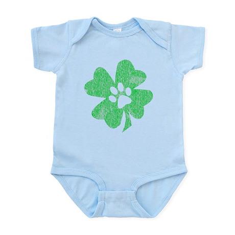 St Patty's Paw Infant Bodysuit