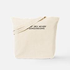 Cute Mixed like my president Tote Bag