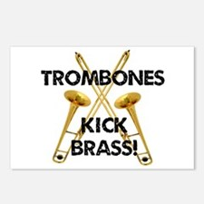 Trombones Kick Brass Postcards (Package of 8)