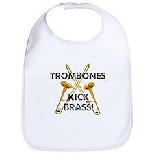 Trombones Kick Brass Bib