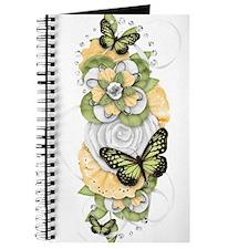 Butterfly Sensations Green Journal