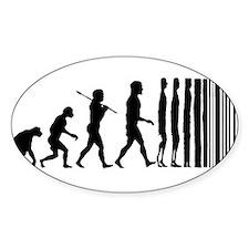Transcendent Man Evolution Decal