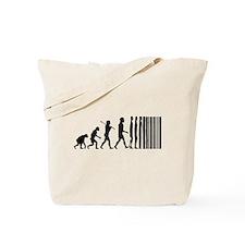 Transcendent Man Evolution Tote Bag