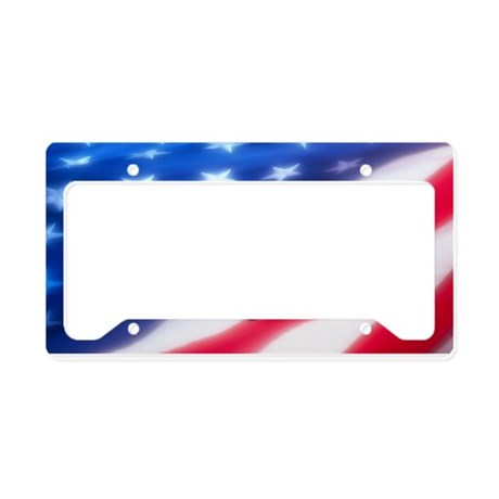 Bass America License Plate Holder