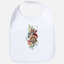 Passion Butterfly Bib