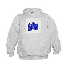 nya Blue Hoodie
