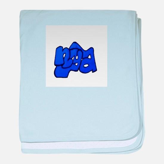 nya Blue baby blanket